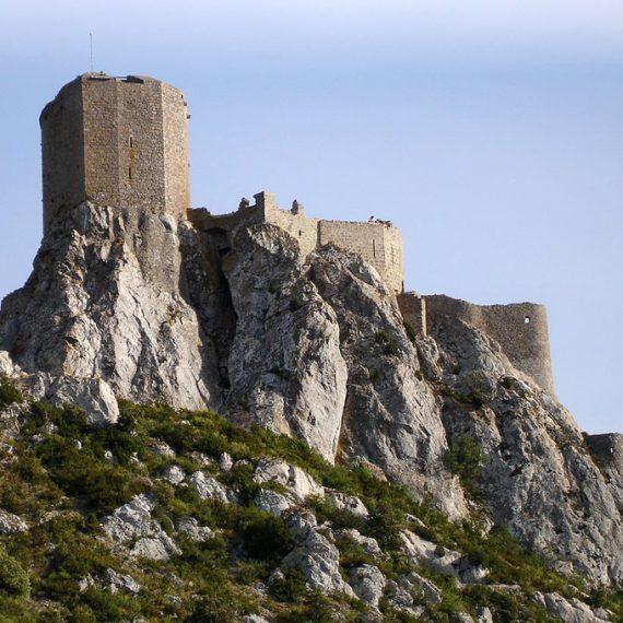 La citadelle de Quéribus