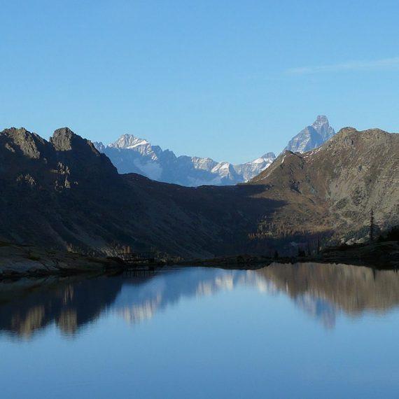 Les lacs du parc du Mont Avic